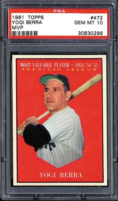 Ten Valuable Yogi Berra Baseball Collectibles